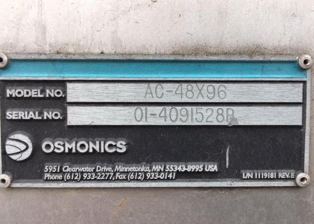Osmonics 48x96 SST Carbon Filter (12)