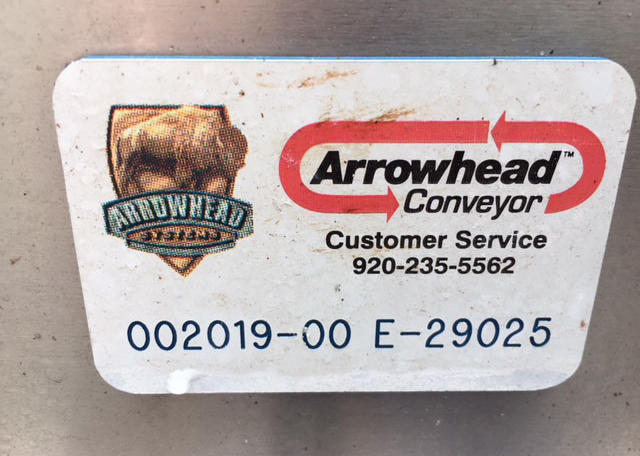 Arrowhead 6 x 20 SS Accumulation Table (10)