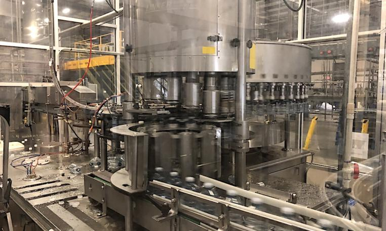 Complete 27500 bph PET Water Bottling Line h
