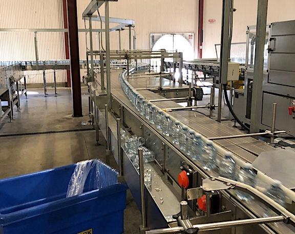 Complete 27500 bph PET Water Bottling Line l