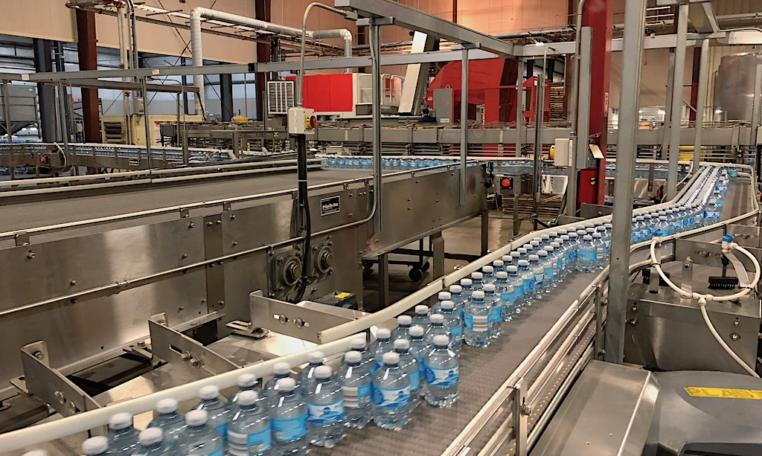 Complete 27500 bph PET Water Bottling Line n