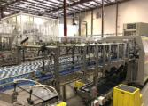 Complete 27500 bph PET Water Bottling Line p