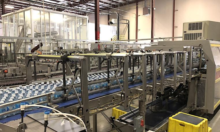 Complete 27500 bph PET Water Bottling Line p