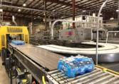 Complete 27500 bph PET Water Bottling Line t