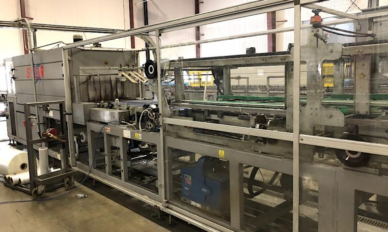Complete 27500 bph PET Water Bottling Line v