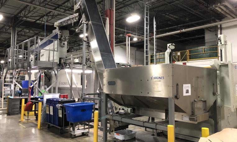 Krones Linker PET Water Bottling Line c