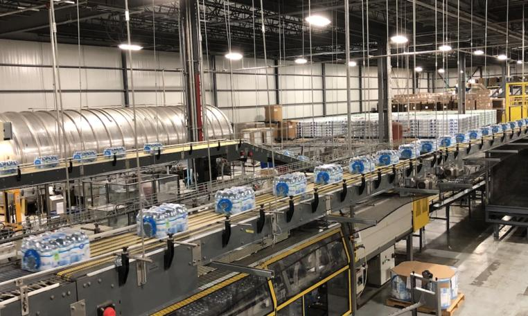Krones Linker PET Water Bottling Line f