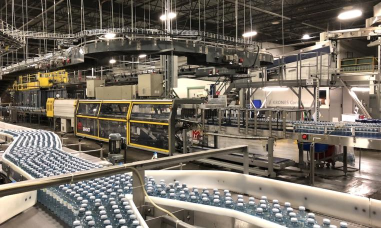 Krones Linker PET Water Bottling Line s