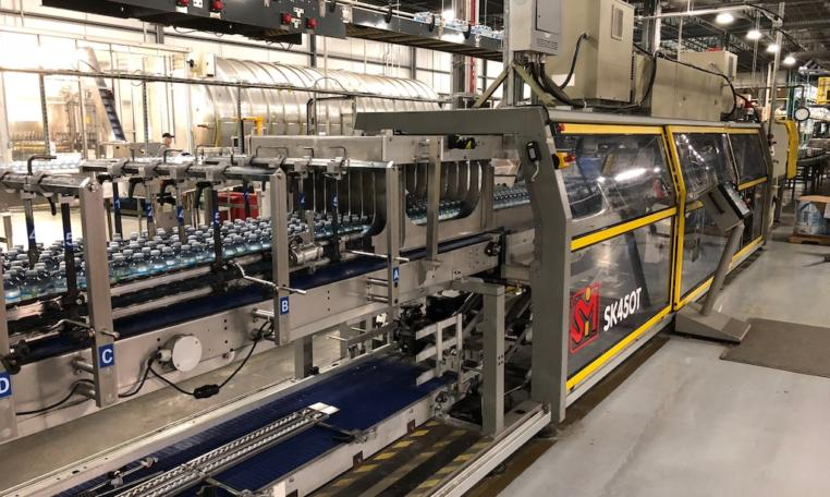 Krones Linker PET Water Bottling Line v
