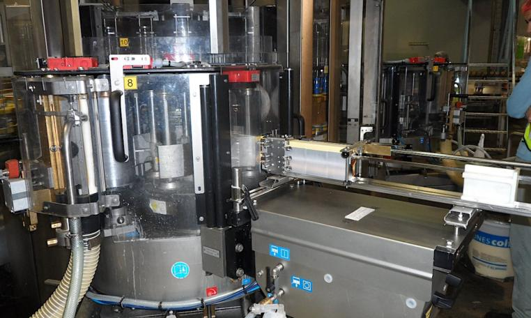 Krones Labeler Topmodul II, SN K407204, year 2011 e