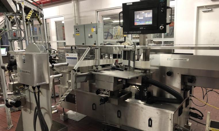 New Jersey Machine Pressure Sensitive Labeler a