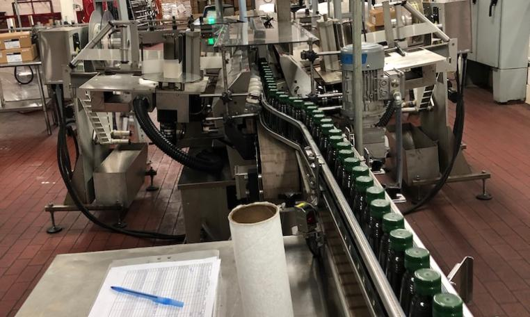 New Jersey Machine Pressure Sensitive Labeler g
