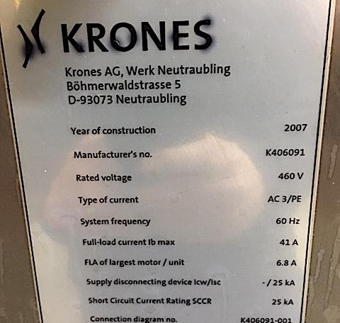 Krones Labeler Solomodul m