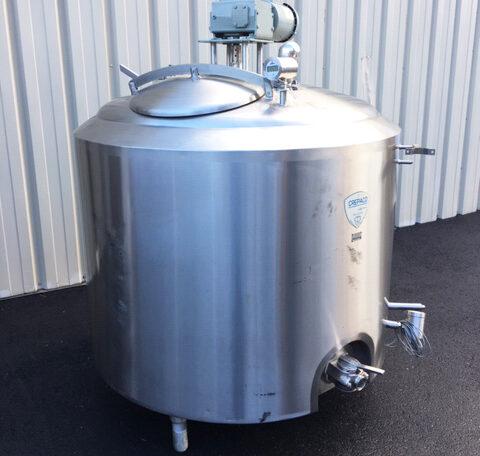 Crepaco 250 Gallon Vat Pasteurizer (2)