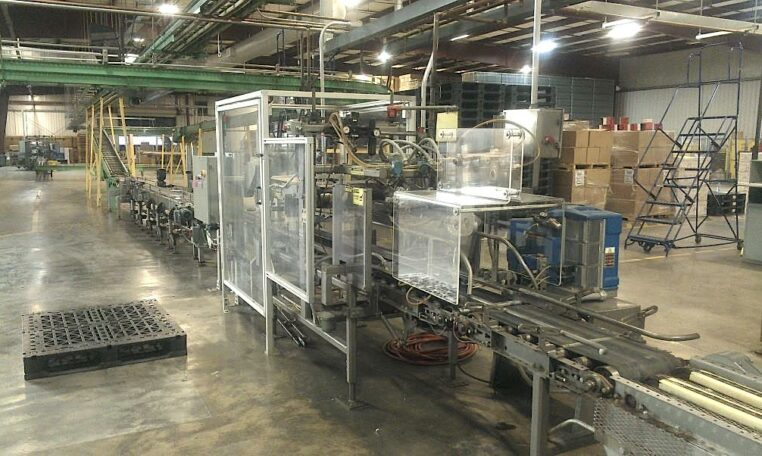 RA PEARSON Automatic Case Sealer c