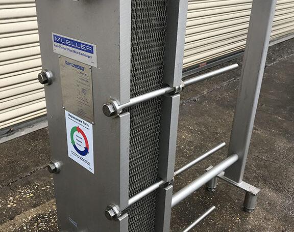 Mueller AT10 SS Plate Frame Heat Exchanger a
