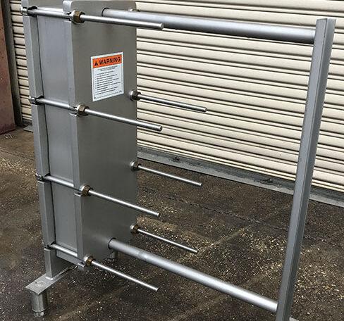 Mueller AT10 SS Plate Frame Heat Exchanger b