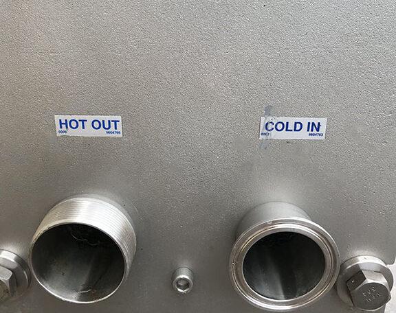 Mueller AT10 SS Plate Frame Heat Exchanger h