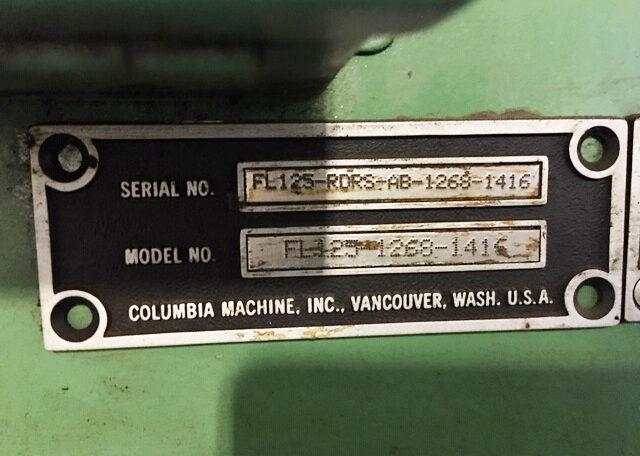 Columbia FL125 Low Level Palletizer (10)