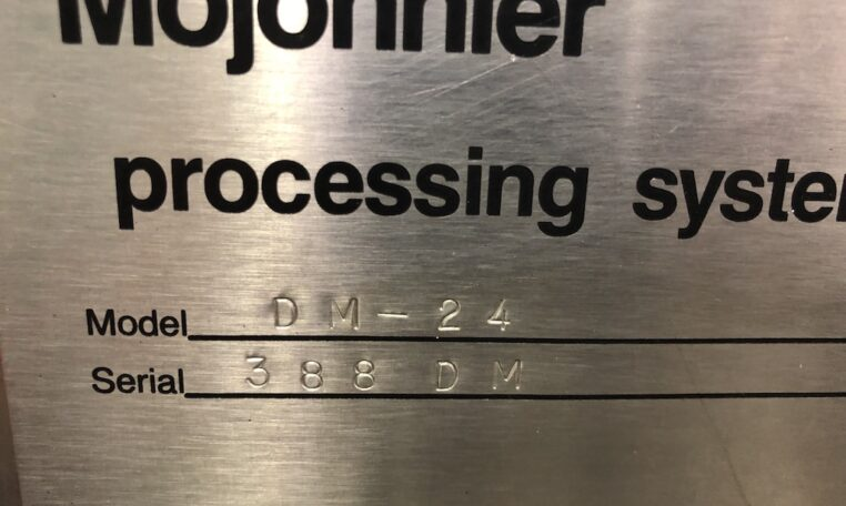 Mojonnier DM-24 Deaeration Module c