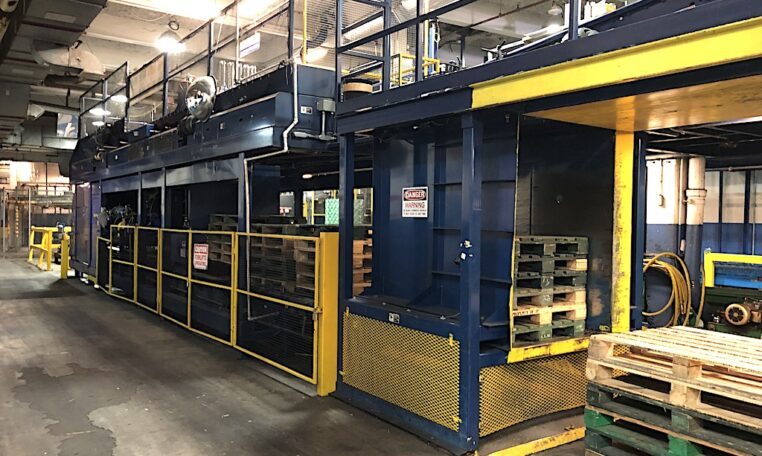 Alvey Model 943 Case Palletizer d