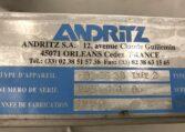 Andritz 5218 Gal SST Sanitary Holding Tanks l