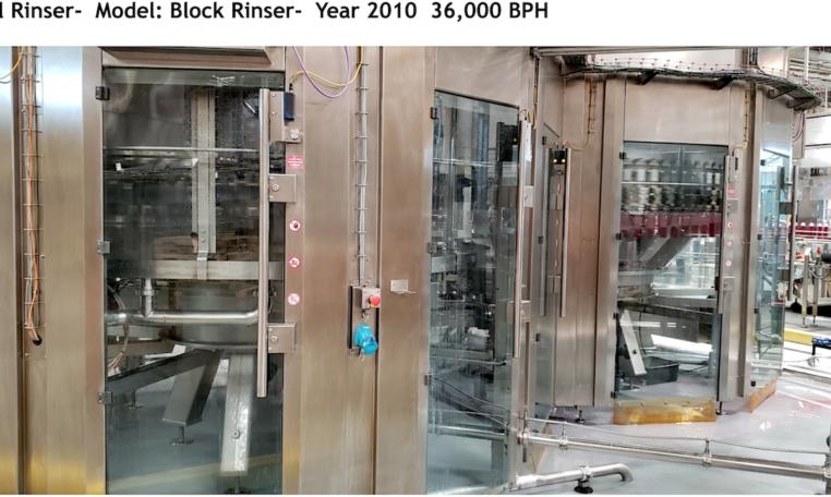 Sidel 36000 BPH CSD Bottling Line f