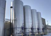 Feldmeier 25,000 gallon vertical Jacketed Tanks a