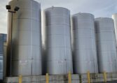 Mueller 20,000 gallon vertical jacketed tanks b