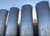 Mueller 20,000 gallon vertical jacketed tanks c