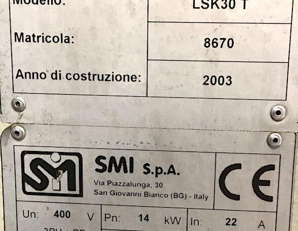 SMI LSK30 T Packer Shrink Bundler f