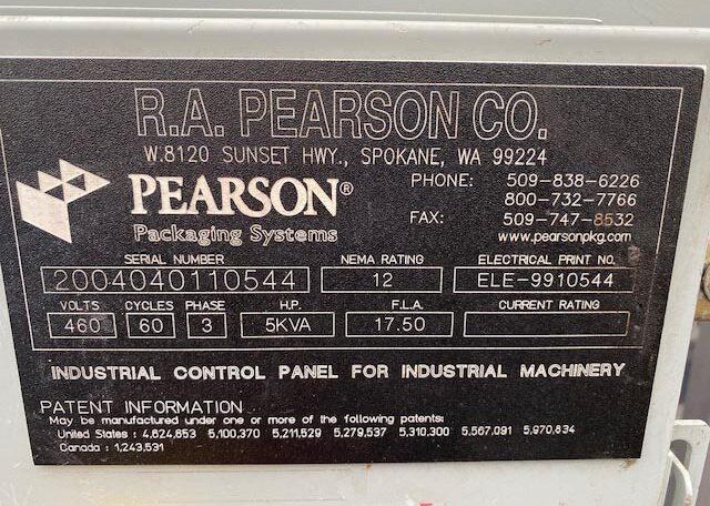 Pearson Case Sealer SN 2004040110544 (13)