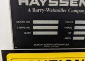 Hayssen Vertical Form Fill Seal h