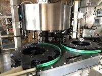 Krones Labeler Rollfeed Hot Melt model Contiroll h