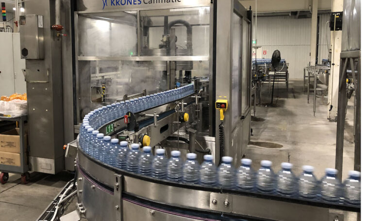 SIDEL PET Water Bottling Line j