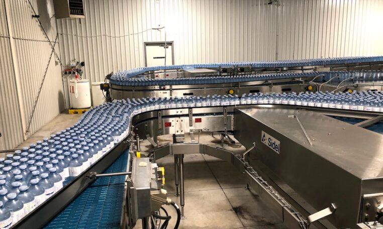 SIDEL PET Water Bottling Line n