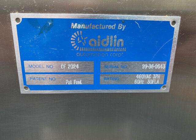 Aidlin CF2024 Cap Sorter SN 99360643 (10)
