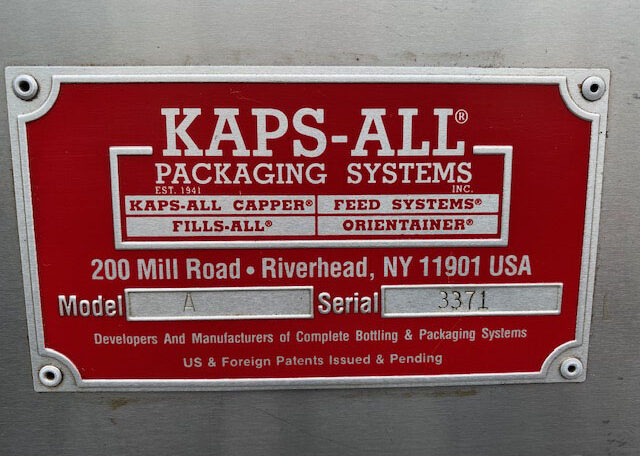 Kaps-All Model A Cap Tightener SN 3371 (10)
