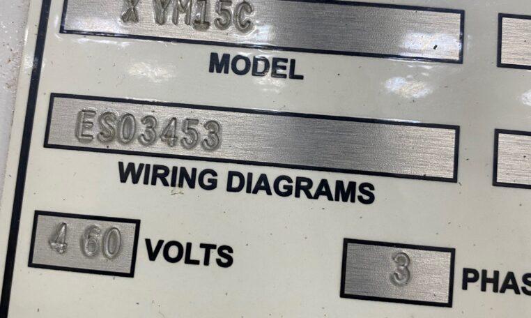 Triangle VFFS model XYM15 C Bagger g